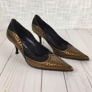 Donald J. Pliner Couture Ruthy leather pumps sz 8M